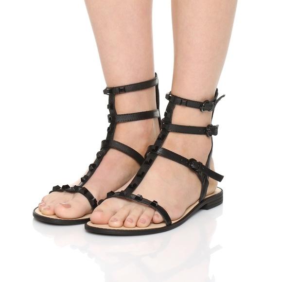 1d715330ea0 Rebecca Minkoff Georgina Studded Gladiator Sandal.  M 5ab13ad08df47031c7fdda6d
